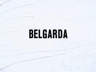 Belgarda text decal