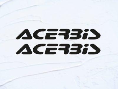 acerbis text decals