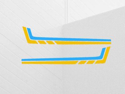 xt600z 3aj side panel decals blue